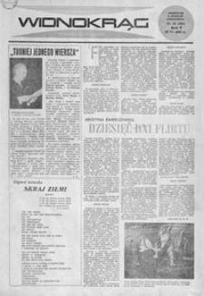 Widnokrąg : tygodnik kulturalny. 1965, nr 25 (27 czerwca)