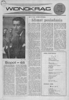 Widnokrąg : tygodnik kulturalny. 1965, nr 31 (8 sierpnia)