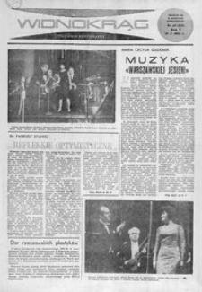 Widnokrąg : tygodnik kulturalny. 1965, nr 40 (10 października)