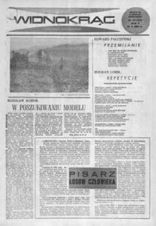 Widnokrąg : tygodnik kulturalny. 1965, nr 42 (24 października)