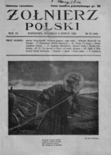 Żołnierz Polski. 1925, R. 7, nr 10 (8 marca)