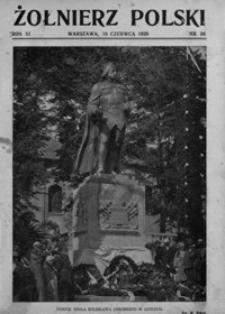 Żołnierz Polski. 1929, R. 11, nr 24 (16 czerwca)