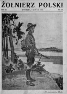Żołnierz Polski. 1929, R. 11, nr 27 (7 lipca)