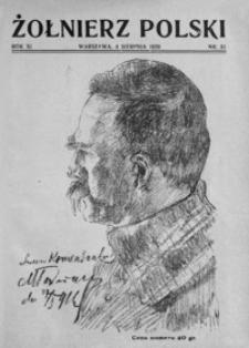 Żołnierz Polski. 1929, R. 11, nr 31 (4 sierpnia)