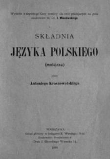 Składnia języka polskiego (mniejsza)