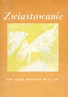Zwiastowanie : pismo Diecezji Rzeszowskiej. [1993], [R. 2], nr [1]