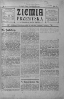 Ziemia Przemyska. 1918, R. 4, nr 1-4 (październik)
