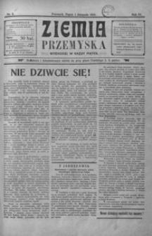 Ziemia Przemyska. 1918, R. 4, nr 5-22 (listopad)