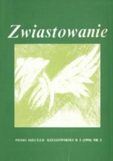 Zwiastowanie : pismo Diecezji Rzeszowskiej. 1994, R. 3, nr 2