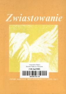 Zwiastowanie : pismo Diecezji Rzeszowskiej. 1995, R. 4, nr 1