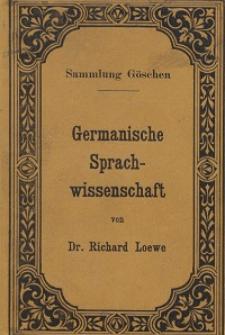 Germanische Sprachwissenschaft