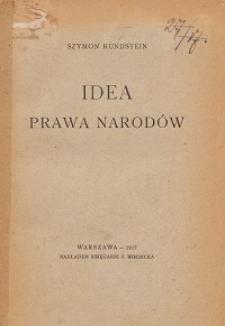 Idea prawa narodów