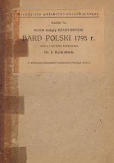 Bard polski 1795 r.