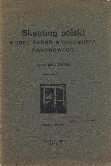 Skauting polski wobec zadań wychowania narodowego