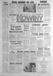 Nowiny : gazeta codzienna. 1994/1995, nr 252, nr 1-22 (grudzień / styczeń)