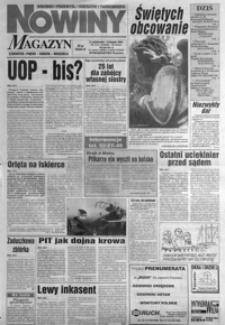 Nowiny : gazeta codzienna. 1996, nr 213-232 (listopad)
