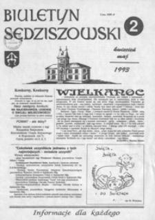 Biuletyn Sędziszowski : informacje dla każdego. 1993, [R. 2], nr 2 (kwiecień-maj)