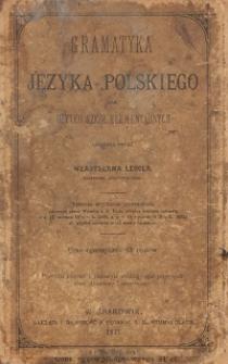 Gramatyka języka polskiego dla użytku szkół elementarnych