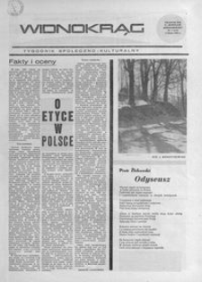 Widnokrąg : tygodnik społeczno-kulturalny. 1968, nr 5 (4 lutego)