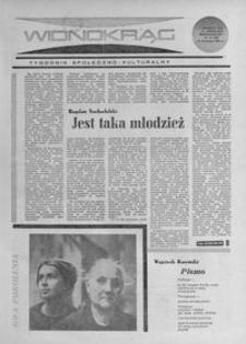Widnokrąg : tygodnik społeczno-kulturalny. 1968, nr 16 (21 kwietnia)