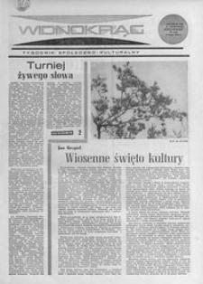 Widnokrąg : tygodnik społeczno-kulturalny. 1968, nr 18 (5 maja)