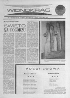 Widnokrąg : tygodnik społeczno-kulturalny. 1968, nr 27 (7 lipca)