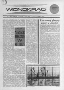 Widnokrąg : tygodnik społeczno-kulturalny. 1968, nr 42 (20 października)
