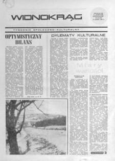 Widnokrąg : tygodnik społeczno-kulturalny. 1968, nr 50 (15 grudnia)