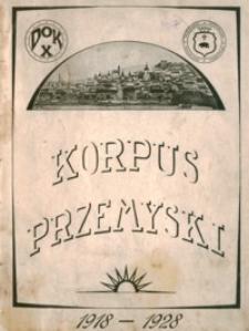 Korpus przemyski : 1918-1928