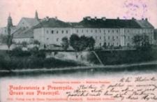 Pozdrowienie z Przemyśla. Seminarium żeńskie = Gruss aus Przemyśl. Madchen-Seminar [Fotowidokówka z obiegu]