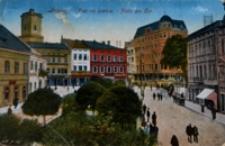 Przemyśl. Plac na bramie - Platz am Tor [Widokówka z obiegu]