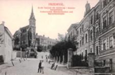 Przemyśl. Ruski Instytut dla dziewcząt i klasztor karmelitanek = Ruthenisches Madcheninstitut und Karmelitenkloster [Fotowidokówka czysta]