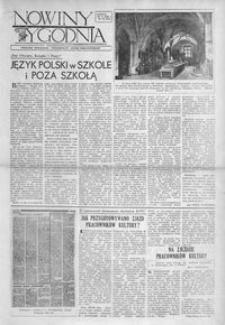 """Nowiny Tygodnia : dodatek społeczno-kulturalny """"Nowin Rzeszowskich"""". 1956, R. 5, nr 18 (19 maja)"""