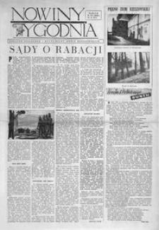 """Nowiny Tygodnia : dodatek społeczno-kulturalny """"Nowin Rzeszowskich"""". 1956, R. 5, nr 21 (9 czerwca)"""