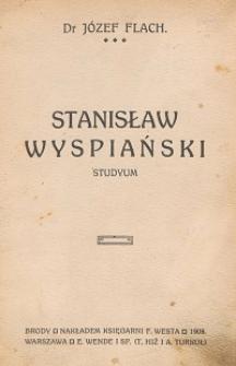Stanisław Wyspiański : studium
