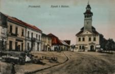 Przeworsk. Rynek i Ratusz [Widokówka z obiegu]