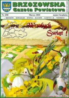 Brzozowska Gazeta Powiatowa. 2010, nr 3 (marzec)