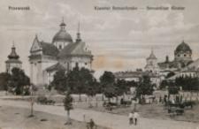 Przeworsk. Klasztor Bernardynów - Bernardiner Kloster [Fotowidokówka czysta]