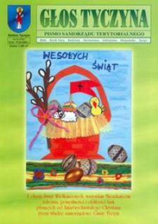 Głos Tyczyna : pismo samorządu terytorialnego. 2006, nr 8 (kwiecień)