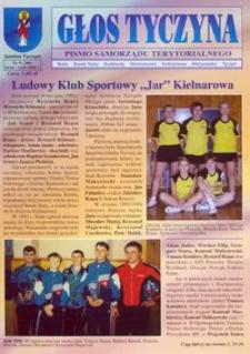 Głos Tyczyna : pismo samorządu terytorialnego. 2006, nr 9 (kwiecień/maj)