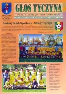 Głos Tyczyna : pismo samorządu terytorialnego. 2006, nr 14 (lipiec)