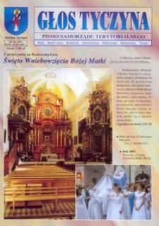 Głos Tyczyna : pismo samorządu terytorialnego. 2006, nr 16 (sierpień/wrzesień)
