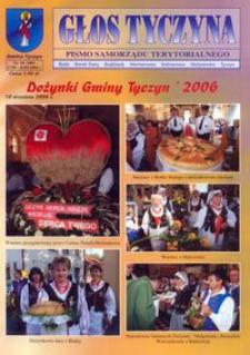 Głos Tyczyna : pismo samorządu terytorialnego. 2006, nr 18 (wrzesień)