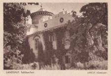 """Landshut. Schlosschen = Łańcut. """"Zameczek"""" [Fotowidokówka czysta]"""