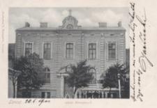 Łańcut : szkoła Boromeuszek [Pocztówka]