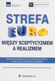 Strefa euro : między sceptycyzmem a realizmem