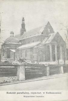 Kościół parafialny, rzym-kat. w Kolbuszowej [Pocztówka]