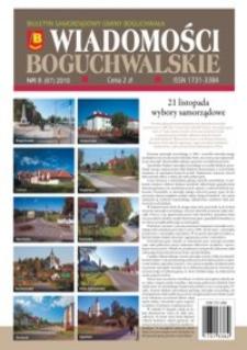 Wiadomości Boguchwalskie : biuletyn samorządowy gminy Boguchwała. 2010, nr 5