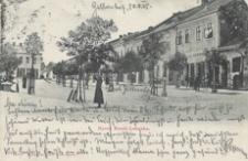 Rynek miasta Leżajska [Pocztówka]