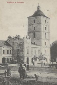 Magistrat w Leżajsku [Pocztówka]